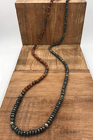 Horn on Harnessed Hematite ('H3')
