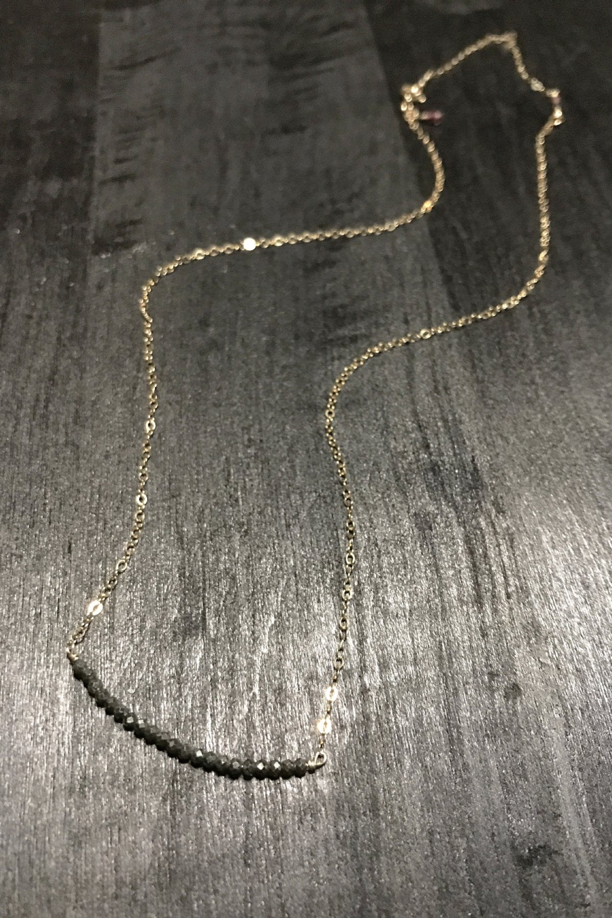 Can't-Go-Without Pyrite Necklace