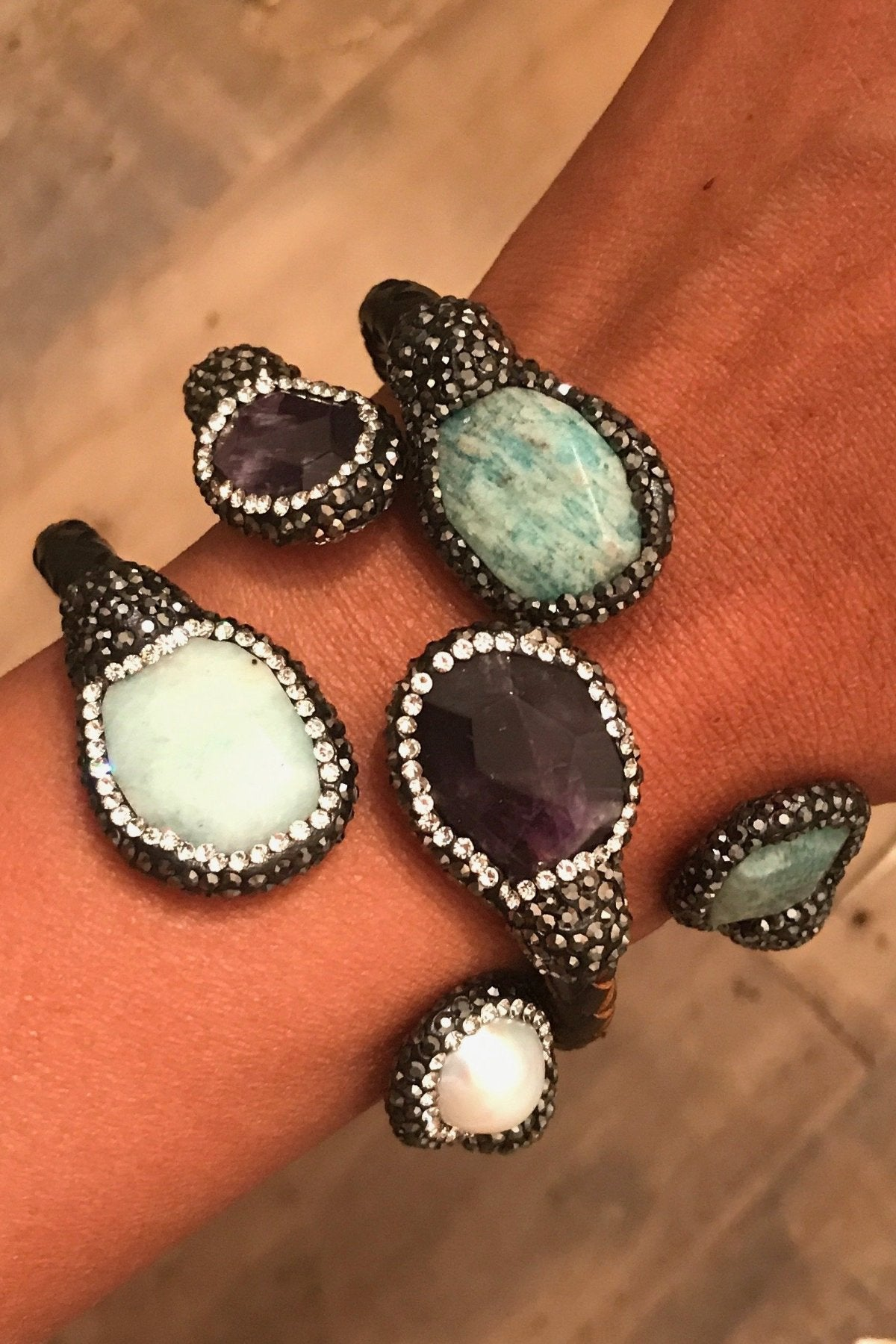 Bejeweled Wrap Bands