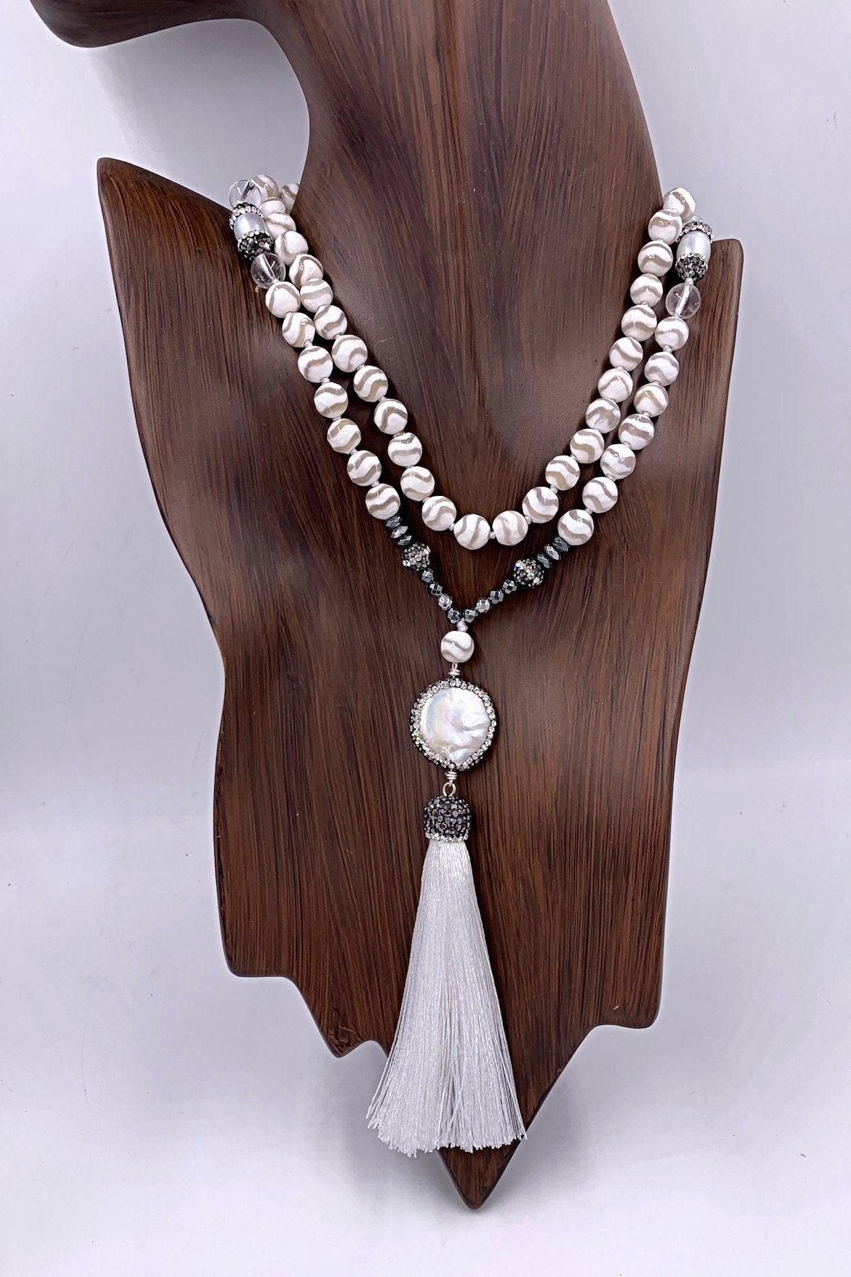 Summer Pearl & Sway Necklace