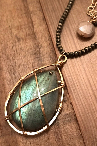 Labradorite Threads