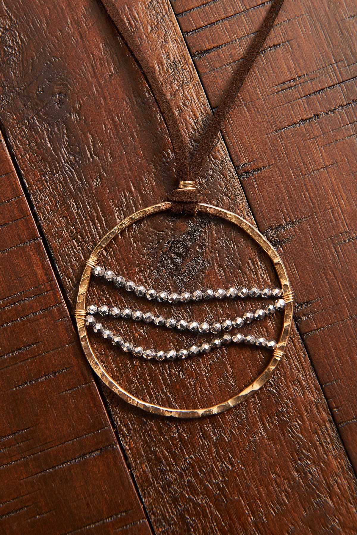 Cascade Medallion Necklace