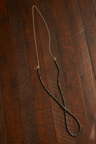 Key-Hole Lariat Necklace