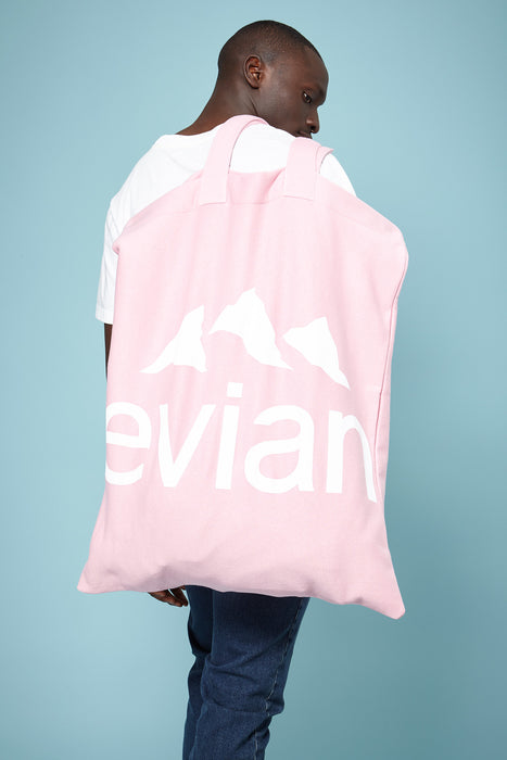 Rad x Evian® Pink Oversize Tote