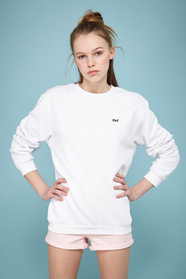 Rad Logo Series - Sweat-shirt blanc