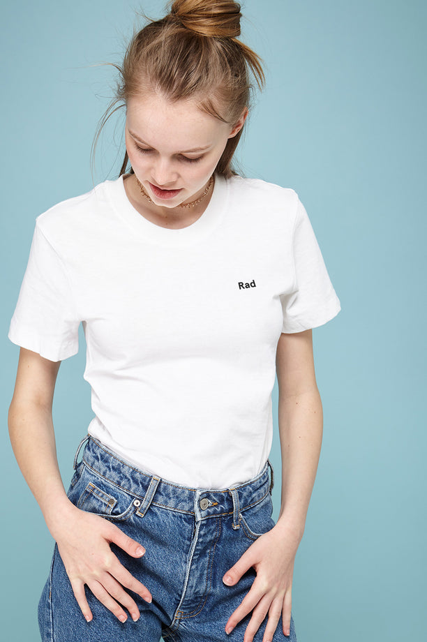 Rad Logo Series - T-shirt blanc