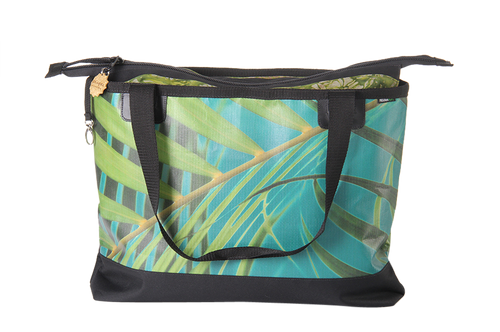 Beach Bag - Palm Peacock