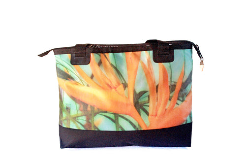 Beach Bag - Orange Flower - Gitingas
