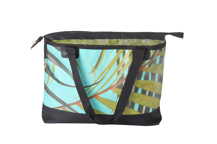Beach Bag - Palm Turquoise - Gitingas