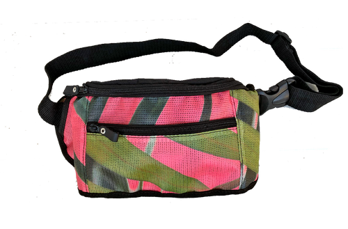Fanny Pack - Palm Salmon