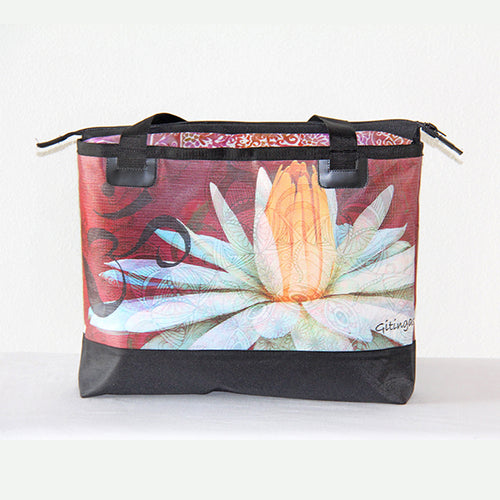 Beach Bag - Lotus Roja