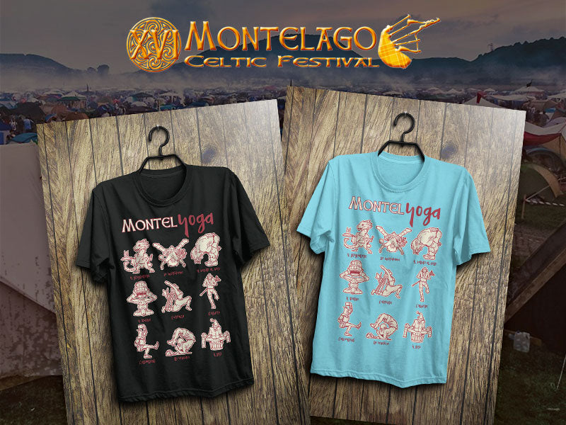 T-Shirt Montel Yoga