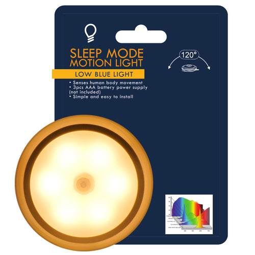 Sunflower Night Light. Stick Anywhere - Battery Powered - Motion Activated. Perfect for Kids Room, Hallway.