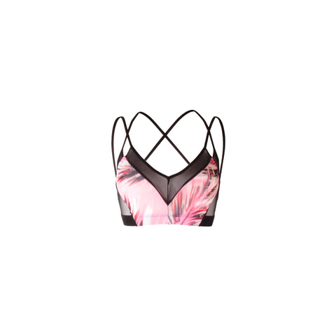INDULGE bra pink jungle
