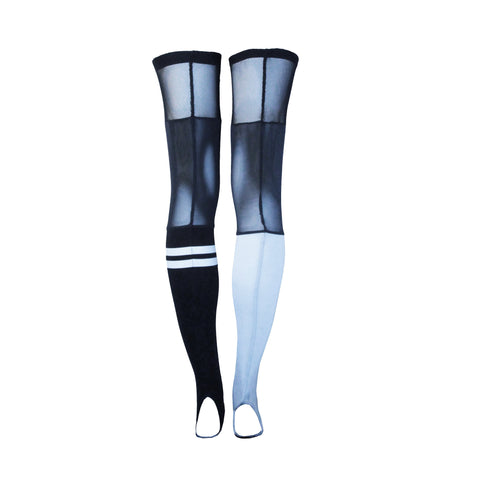 Fashionable sport stockings for fitness, gym and workout
