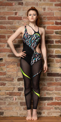 Body suit for dancing, fitness, gym and workout