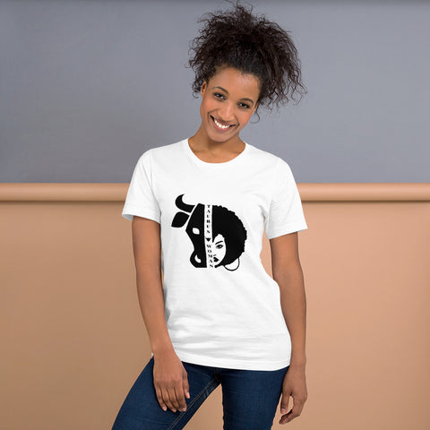 Taurus African American Woman Short-Sleeve Women's T-Shirt