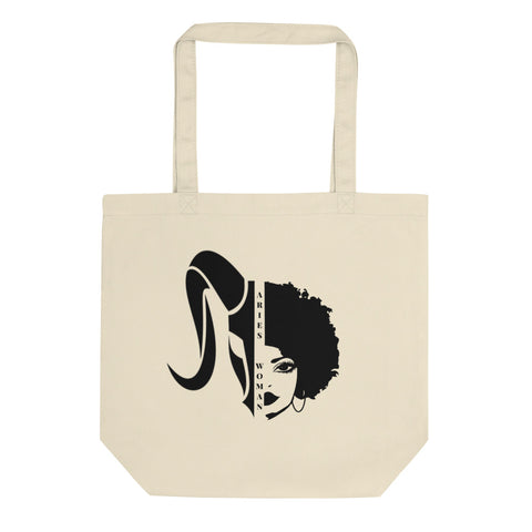 Aries African American Woman Eco Tote Bag