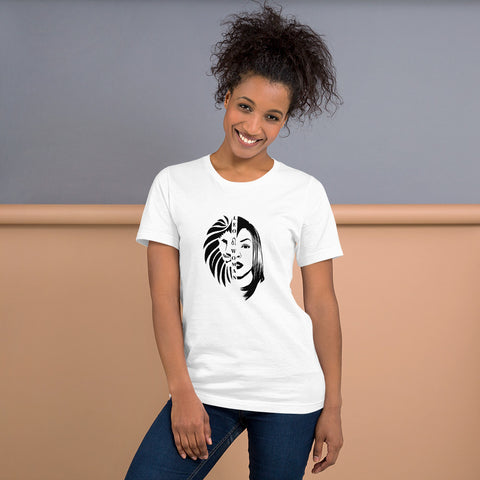 Leo Woman African American Woman Short-Sleeve Women's  T-Shirt