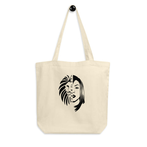 Leo Woman African American Woman Eco Tote Bag