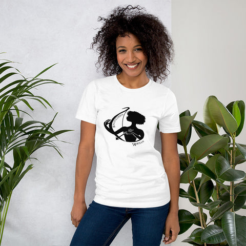 Sagittarius African American Woman Short-Sleeve Women's T-Shirt