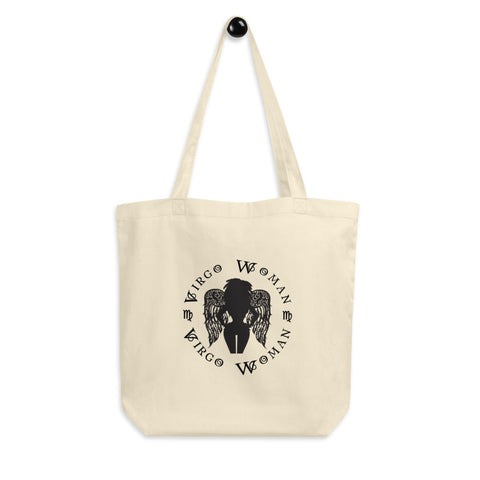 Virgo African American Woman Eco Tote Bag