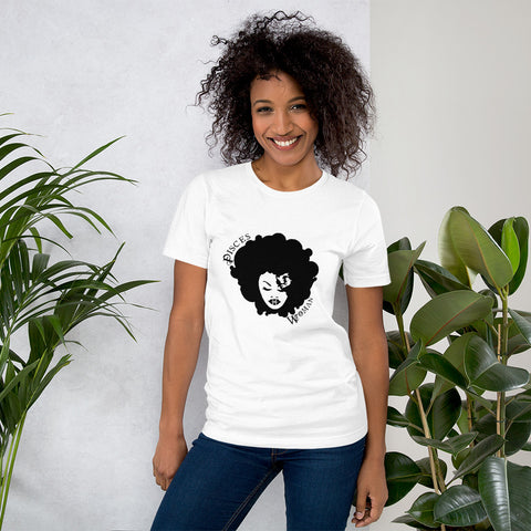 Pisces African American Woman Short-Sleeve Women's T-Shirt