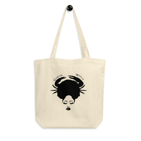 Cancer African American Woman Eco Tote Bag