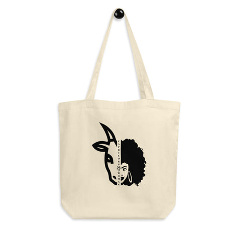 Capricorn African American  Woman Eco Tote Bag