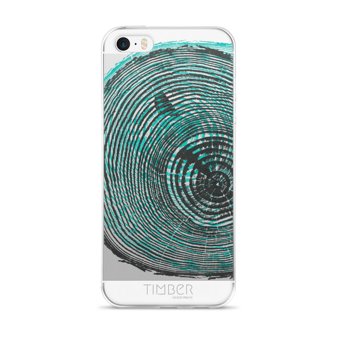 iPhone 5/5s/Se, 6/6s, 6/6s Plus Case, Southern Pine Print