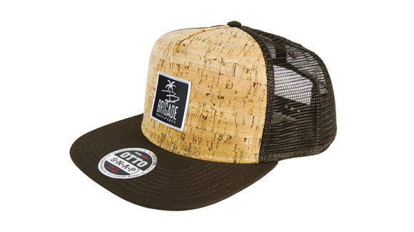 Brown Cork Trucker Hat