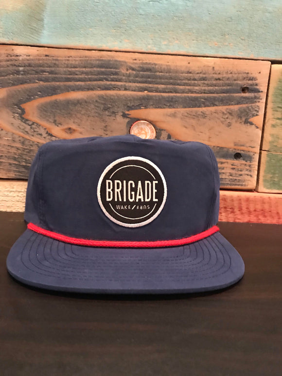 Blue Battalion Circle Patch Hat