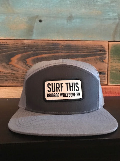 Surf This Patch: Grey & Grey