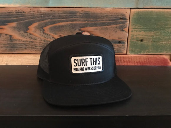 Surf This Patch: Black on Black