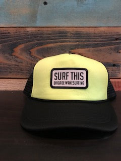 Surf This Patch: Highlighter Yellow Foam