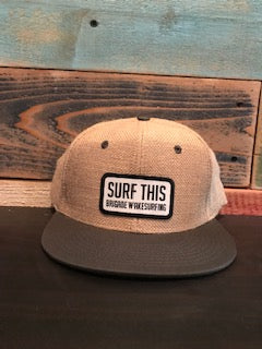 Surf This Patch: Burlap Hat