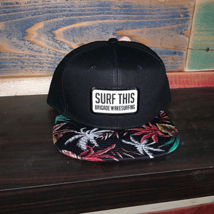 Surf This Island Palms Snapback