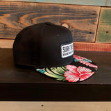 Surf This Tropic Floral Snapback