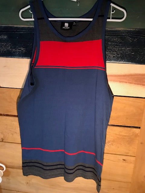 Men: Tri color Surf This Tank