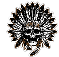 Full Native Brigade Sticker
