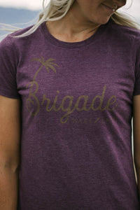 Purple Brigade Ladies T