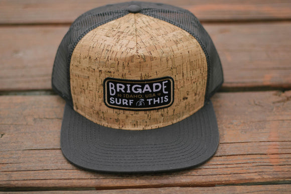 Grey Cork Trucker