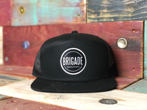 The Blacked Out Classic Brigade Hat