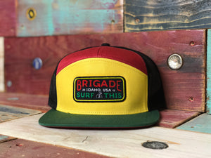 The Rasta on Rasta 7 Panel Hat