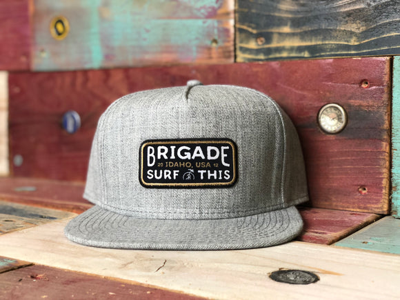 The all grey Classic EST. 2012 Brigade Hat