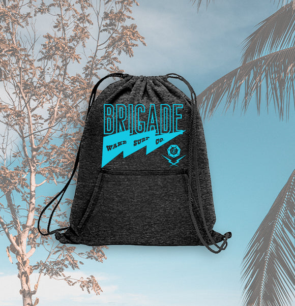 Surf Cinch Hoodie Bag