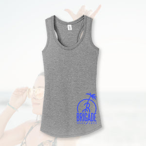 Women's: Grey B-Tree Tank