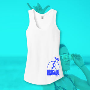Women's: White B-Tree Tank