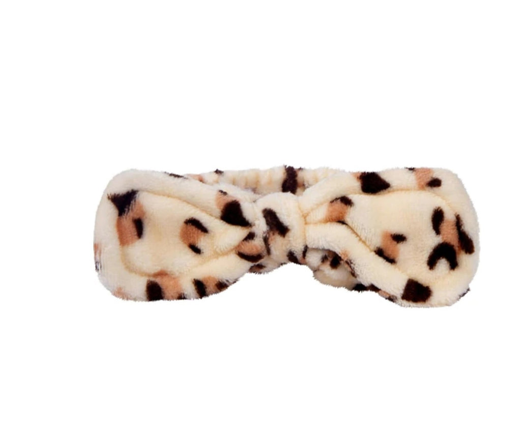 Cheetah Plush Headband