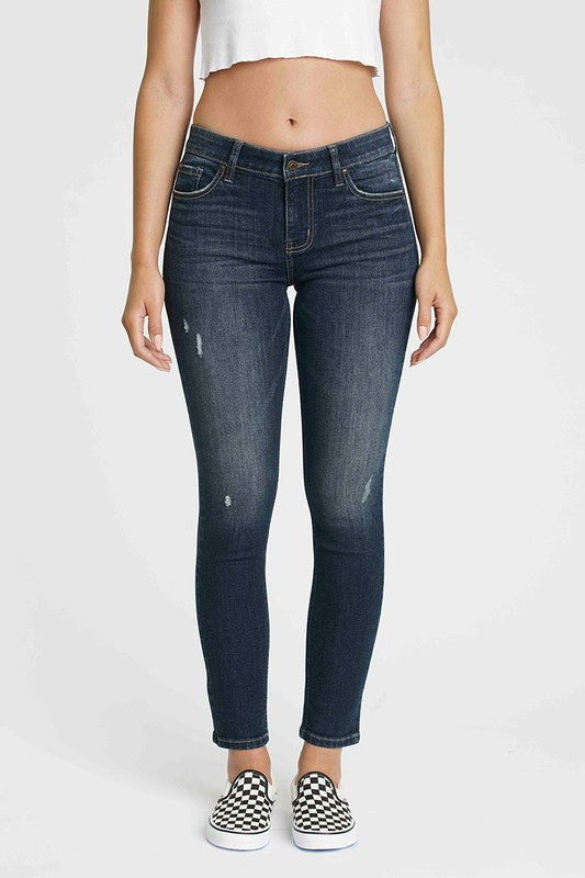 Jude Mid Rise Skinny Ankle